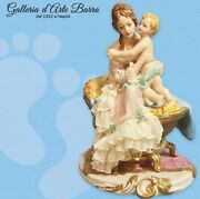 Porcelain Capodimonte Maternity, First Smiles Dress Lace Of Porcelain