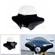 Motorcycle Batwing Fairing Windshield Fit For Harley Softail Slim Fatboy Deluxe