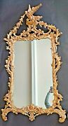 Vintage Labarge Italian Gilt Rococo Hand Carved Very Ornate Wall Mirror