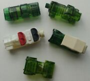 Avon - Lot Of 5 After Shave Bottles - Cars - Empty And Partially Full - Vintage