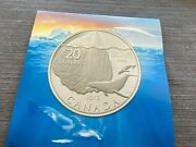 2013 Fine Silver 20 Canada Whale Iceberg Coin Royal Canadian Mint Uncirculated
