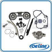 Timing Chain Kit For 00-08 Chevrolet 2.2l Water Pump Gasket Gear Oiler Bolts Set