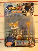Sonic X Metal Force Tails Fox Action Figure Rare Toy Island Toys R Us New In Box