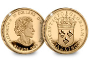 Canada 2020 Relics Of New France - Louis Xiv 15 Sol Gold Coin