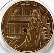 La Scala Operaand039s Silver Gold Plated Medal Richard Wagner Dich Teure Halle