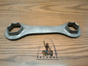 Vintage Motorcycle Wrench Ariel Closed End Hexagon Tool 7/8 3/4