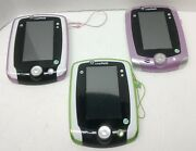 Leapfrog Leappad 2 Learning Tablets W/stylus Only Lot 3 - Reset Pink Green