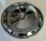 69 Camaro Air Cleaner Lid Chrome Fits Closed Air Cleaner 396 427 Only