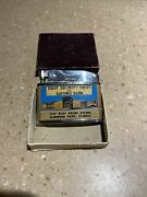 First Security Trust And Savings Bank Cigarette Lighter W/box Elmwood Park Il