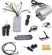 1800w 48v Brushless Electric Motor Wire Controller Grips Pedal T8f Chain Switch