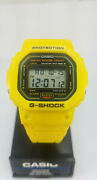 Casio G-shock Dw-5600 Very Rare Yellow Limited Edition Vintage Divers Watch