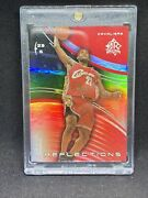 2003 Upper Deck Reflections Chrome Lebron James Red Refractor /500 Rc