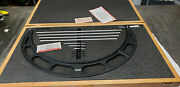 Starrett 224m 400-500mm Outside Micrometer Set With Standards In Case. Lot3