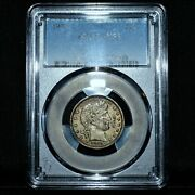 1914-p Barber Quarter ✪ Ngc Au-55 ✪ 25c Silver Almost Uncirculated ◢trusted◣