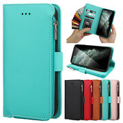 For Iphone 12 11 Pro/xs Max/xr/8 7+ Leather Wallet Magnetic Flip Cover