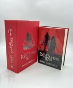 The Red Queen's War Lettered Edition Grim Oak Press