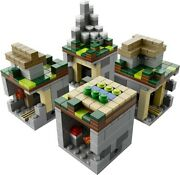 Lego 21105 Minecraft Microworld The Village 100 Complete 2 Instruction Manuals
