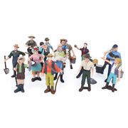 Toy Figure Portable 16pcs/set Farm Character Model Interactive Toy Plastic For