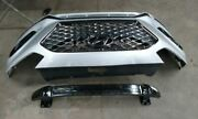 No Shipping Front Bumper Us Built With Sport Package Mesh Grille Fits 18-19 So