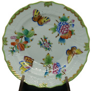 Herend Porcelain - Dessert Plate – Rare Old Queen Victoria - From 1940 A