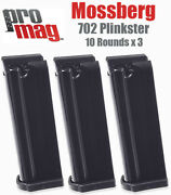 Mossberg 702 Plinkster 22lr Magazine 10 Rd. Rifle Mag Clip By Promag 3 Pack Save