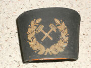German Miners Hat, 1800s, Crossed Hammers, Extremely Rare,-very Nice Piece
