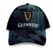 Guinness Ghost Maryland Flag Mesh Back Embroidered Cap Hat - New Fast Ship