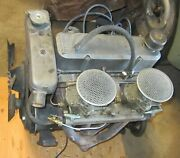 Sunbeam Alpine Ii 1592 Engine Complete Twin Carb To Pan W/ Clutch And Header Tank