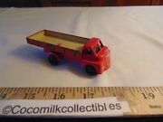1950's Stake Truck Wells Brimtoy Tin Plastic Friction Toy Bedford Great Britain