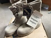 New Usgi Intermediate Cold Wet Weather Combat Boots Gore-tex Us 5w Made In Usa