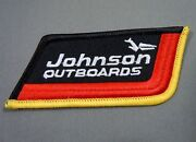 Johnson Outboards- Outboard Motors Iron On Embroidered Jacket - Cap Patch 3.5