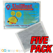 Uniheat 20 Hour Heat Pack - 5 Pack For Shipping Live Corals Fish Reptiles Plants