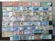 World Banknotes About 344species Lot Very Good Choice For Collectors, See Photos