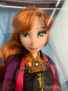 Disney Store Frozen 2 - 17 Anna Limited Edition Doll - Brand New