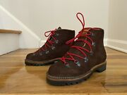 Viberg Hiker Mocha Oil Tan Roughout Boots Size 6 Mens Hiker Boots Discontinued