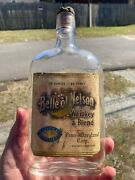 Bell Of Nelson Penn - Maryland Corp. Baltimore Maryland Labeled Whiskey