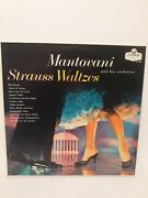Mantovani Orchestra Strauss Waltzes From The Abc Record Library Nyc Ll 685