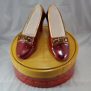 Wizard Of Oz Ruby Slippers Cookie Jar Star Jars By Treasure Crafts Le 136 W/box