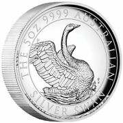 2020 8 Australian Swan 5oz High Relief Silver Proof Coin @special