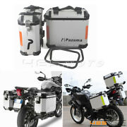 Motorcycle 36l Side Cases Saddlebag Luggage Panniers Side Boxes For Bmw Yamaha