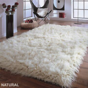 Amazing 5and039 X 7and039 Natural Flokati Rug-ultra-plush 4 Pile. The Best Flokati Made