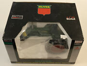 Oliver Super 66 Gas Narrow Front Tractor 116 Spec-cast High Detail Nib Red Rims