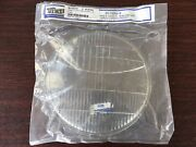 Ford Licensed Headlamp Headlight Lens W Ford Script 1935 Car And 1935-39 Truck