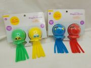 4 New Sun Squad Light Up Octopus Fish Wiggle Divers Splash Bombs Water