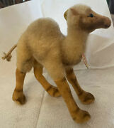 Vintage Steiff Camel Button And Tag W Germany Us Zone Vintage 1940s - 50s