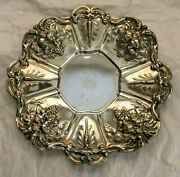 Reed And Barton Sterling X569 Tray Pattern Francis I 1 Of 2 Grape Clusters