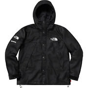 Supreme/the Leather Mountain Parka | Black | Large | In Hand