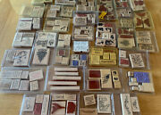 Huge Lot 175+ Stampin Up Stamps - Mixed -all Occasion Holiday Birthday