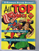All Top Comics, William H. Wise 1944, Giant Size ,35 Complete Stories 132 Pages