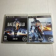 Ps3 Game Lot Battlefield 3 + Battlefield 4 Free Ship Video Game Free Ship